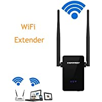 Oakletrea Wi-Fi Range Extender 300Mbps Wireless WiFi Repeater with Dual External Antennas and 360 Degree WIFI Covering