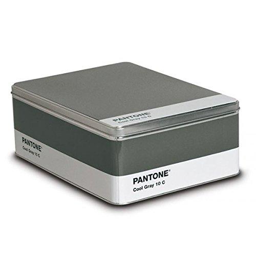 Pantone Metal Storage Box Cool Gray - Products Pantone
