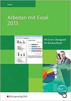 Book Arbeiten mit Excel 2013