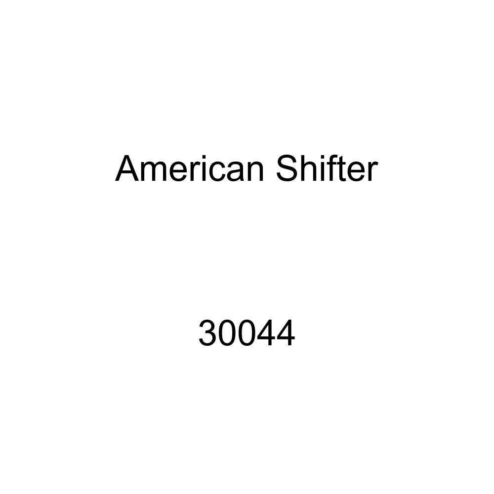 American Shifter 30044 Ivory Shift Knob with 16mm x 1.5 Insert Yellow Instrument Gauge