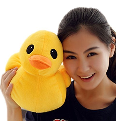 PeiGee 30CM Plush Yellow Duck Soft Stuffed Animal Toy Sofa Decoration Kids - Pillow Ducky