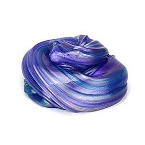 Galaxy slime Putty Multicolored Egg Shape Fun Play Kids Party Gift