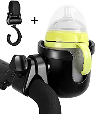 Stroller Drink Holder PVC Cup Holder for Wheelchair and Bikes Bottle Cages