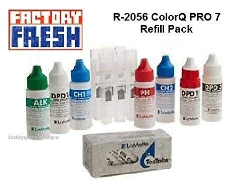LaMotte R-2056 Color Q PRO Liquid Reagent Refill, Pack of 7 by LaMotte