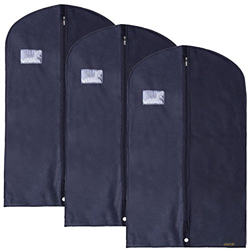HANGERWORLD Breathable Garment Carry Clothes