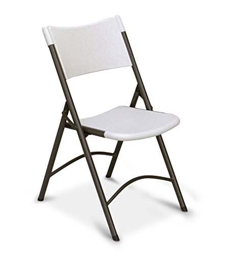 - Correll RC400 CP Series Blow Molded Plastic Light Weight Economy Folding Chair, Gray Granite (Pack of 4)