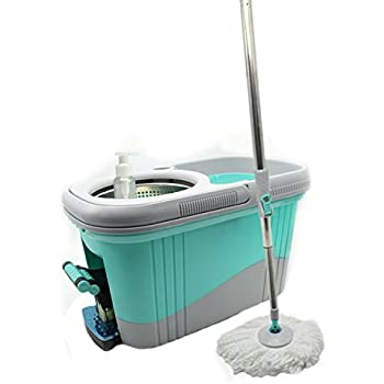 Amazon Com Kp Solutions Spin Mop Bucket Wringer Durable
