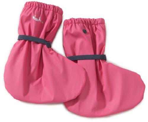 Playshoes Playshoes Regenfüßling / Regenfüßlinge mit Fleece-Futter , verschiedene Farben, Oeko-Tex Standar 408911 - Zapatos para bebé para niños Rosa (Pink (pink 18))