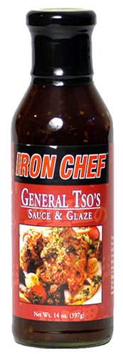 Price comparison product image Mla Iron Chef General Tso's Sauce & Glaze, 14-Ounce Bottle (Pack of 3)
