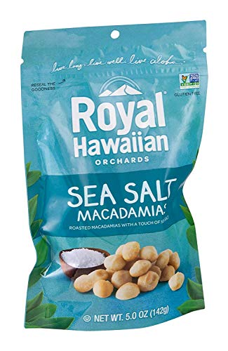 (Royal Hawaiian Orchards Nut Macadamia Sea Salt (Pack of 3))