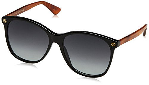 Gucci Fashion Sunglasses, 58/16/140, Black / Grey / - Sunglasses Case Gucci