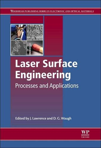 Laser Surface Engineering: Processes and Applications (Woodhead Publishing Series in Electronic and Optical Materials)