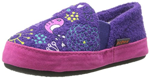 Pictures of Acorn Kids Colby Gore Moc Slipper Black 12 none US Girl 1