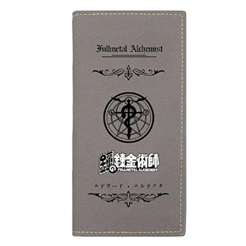 YOYOSHome® 2015 New Fullmetal Alchemist Anime Cartoon Purse Wallet (Fullmetal2) - Messenger Alchemist Metal Full Bag