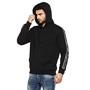 Alan Jones Clothing Men's Fleece Hooded Sweatshirt