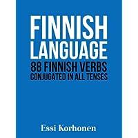 Finnish Language: 88 Finnish Verbs Conjugated in All Tenses
