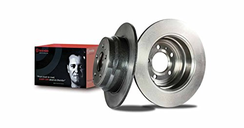 (Brembo 09.8969.21 UV Coated Rear Disc Brake Rotor )