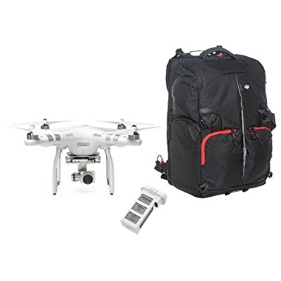 DJI Phantom 3 Advanced Quadcopter with 1080p Camera, 3-Axis Gimbal, Extra Battery and Phantom Backpack, Transmitter Included