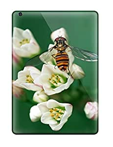 For Ipad Air Protector Case Hoverfly On A Flower Phone Cover by lolosakes