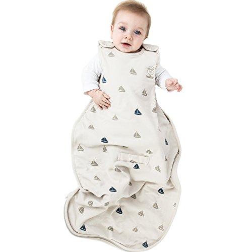 Woolino Baby Sleep Bag Or Sack by 4 Season Merino Wool Wearable Blanket Gown, 2-24 Months, Boats by Woolino (Image #10)