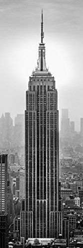 Empire State Building in a city Manhattan New York City New York State USA Poster Print (12 x 36)