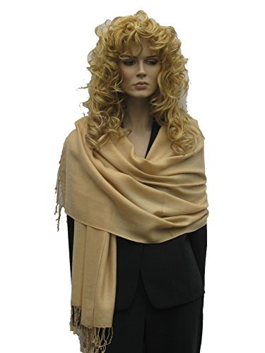 WATER SHAWL/SUMMER SHAWL IN MANY COOL VIBRANT COLORS (CAMEL)