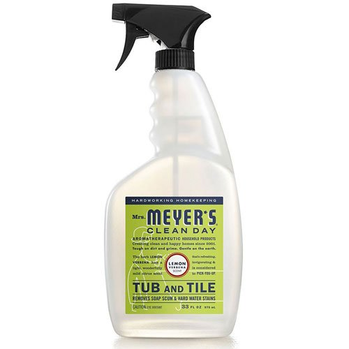 Tub & Tile Cleaner, Lemon Verbena 33 Oz by Mrs Meyers (Pack of 2)