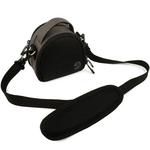 - VanGoddy Mini Laurel Carrying Bag for Sony Cyber-shot DSC-W830 Digital Cameras (Charcoal Gray)