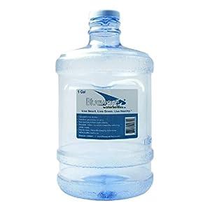 Bluewave Lifestyle Gen2 Round Water Bottle with Cap, 1 gallon