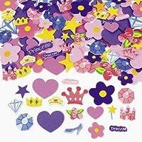 500 formas autoadhesivas de espuma de princesa - Pegatinas