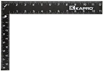 "Kapro 305-12 Steel Carpenter Square, 8"" x 12"""