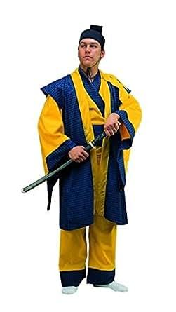 Adult STD Sz (36-40)- Samurai Warrior Costume