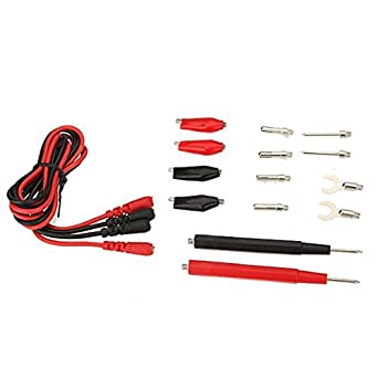 1 set Multifunction Digital Multimeter Probe Test Leads cable Alligator Clip
