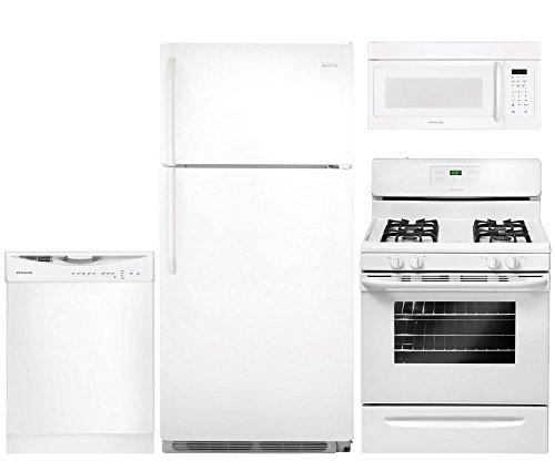 Frigidaire 4-Piece White Kitchen Package with FFTR18G2QW 30