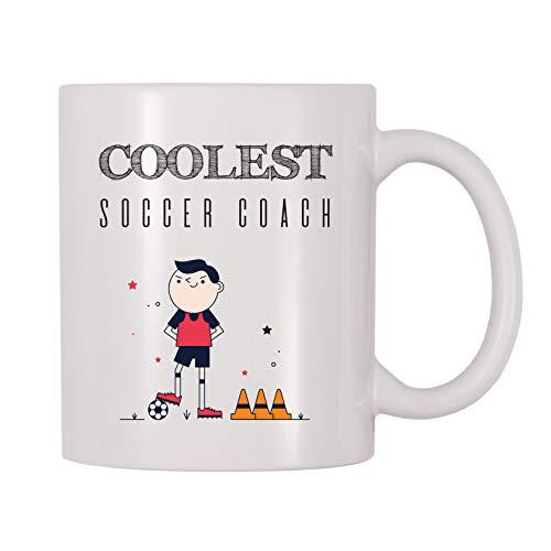4 All Times Coolest Soccer Coach Coffee Mug (11 oz)