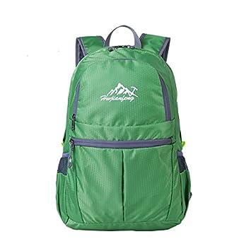 20L Mochila Plegable Bolsa De Viaje Mochilas De Acampada Viaje Senderismo Grande Para Hombres Mujeres Niñas - Jade verde, 308x218x420mm: Amazon.es: Deportes ...