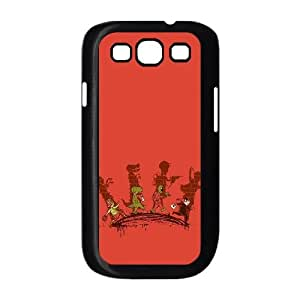Samsung Galaxy S3 9300 Cell Phone Case Black_Trick Or Treat Suqwl