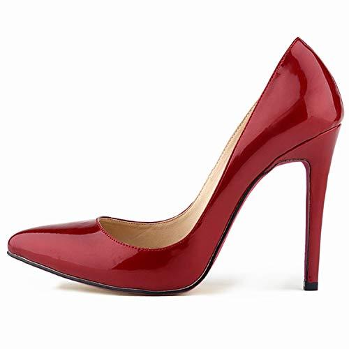 G 36 EU FLYRCX Mode Simple européenne Couleuré Doux Bouche Peu Profonde Sexy Stiletto Pointu Chaussures Simples Les Les dames tempéraHommest élégant Talons Hauts MultiCouleure en Option