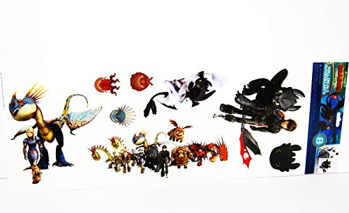 How to Train Your Dragon Hidden World Wall Decals Vinyl Stickers