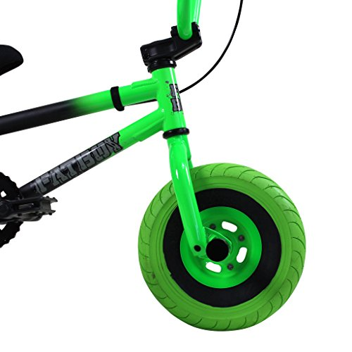 Best of FatBoy Mini BMX Bicycle, Matte Black, Neon, Green