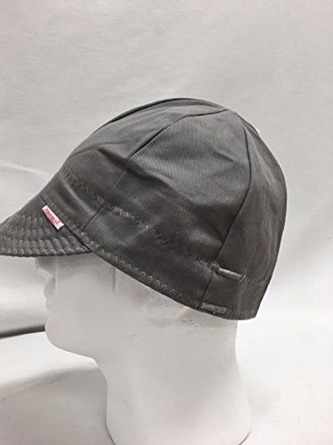Comeaux Caps Reversible Welding Cap Solid grey Size 7 3/8