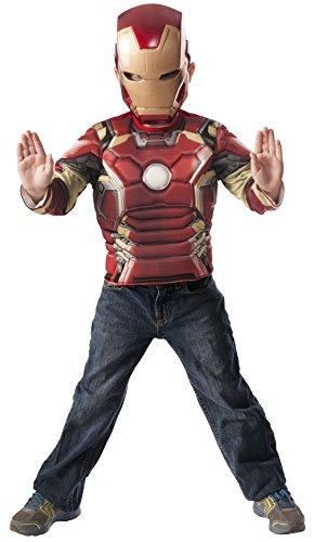 Marvel Iron Man Mark 43 Muscle Chest Shirt Set ()