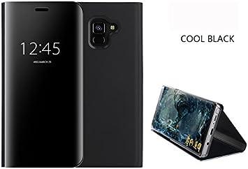 COVO® Funda para Samsung Galaxy A8 2018 Espejo Flip Case ...
