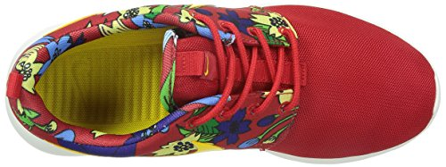 NIKE Roshe One Print WMNS mujeres zapatilla de deporte rojo 599 432 674 Rot