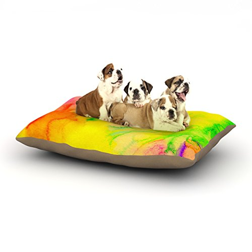 Kess InHouse Sreetama Ray ''Chemical Love Story'' -Tags Dog Bed, 30 by 40-Inch by Kess InHouse