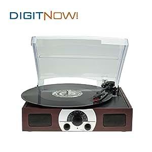 Digitnow tocadiscos est reo plato giradiscos plato vinilo - Plato discos vinilo ...