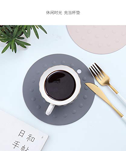 tight containers 5 Pieces round kitchen rubber jar gripper pads home and kitchen tool for opening bottles coasters bottle lid openers