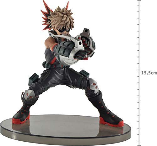 My Hero Academia Enter the Hero Katsuki Bakugo Ref.28955/28956, Bandai Banpresto, Multicor