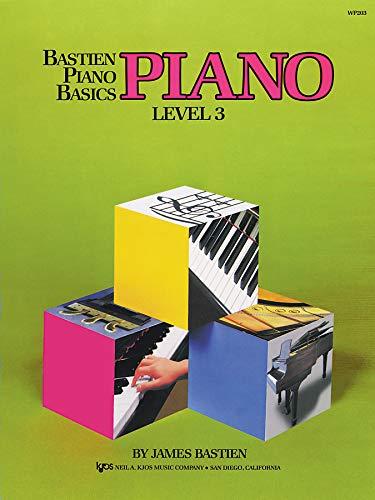 - WP203 - Bastien Piano Basics - Piano Level 3