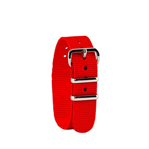 EasyRead Time Teacher Children's Watch Band - Red (Children Watch Band)